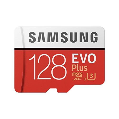 [amazon] Samsung EVO Plus 128 GB microSDXC (2017) Speicherkarte mit SD Adapter für EUR 29 (MB-MC128GA/EU)