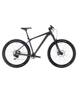 "Cube Mountainbike ""Reaction TM g""rey´n´black 2018 16'' & 18''"