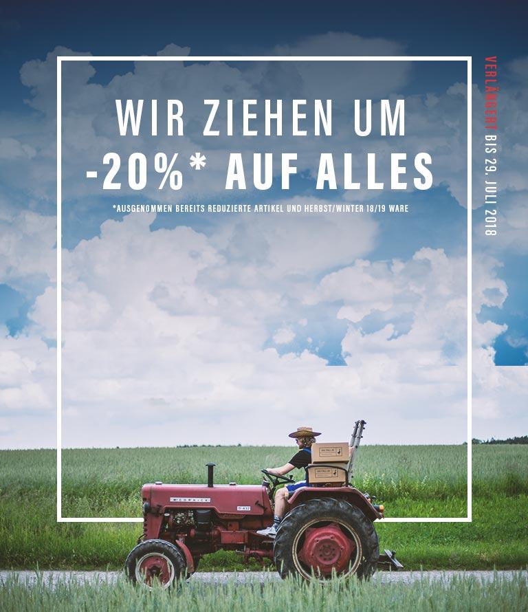 -20% auf Alles + extra 10€ Gutschein - Sneaker, Kleidung, ...
