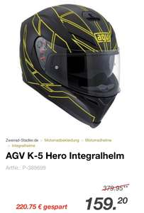 AGV K5 hero in Gelb -10€ Newsletter