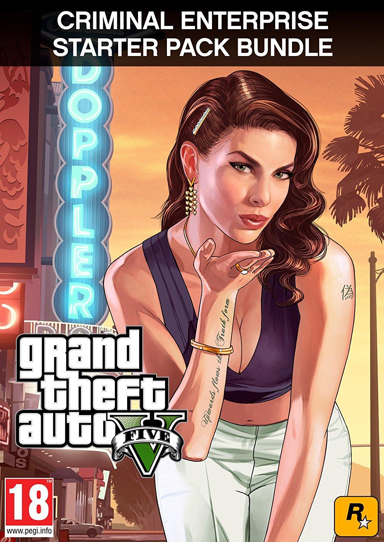 Grand Theft Auto V (PC) inkl. Criminal Enterprise Starter Pack (u.a 1.000.000 GTA$ Bargeld, Immobilien, Fahrzeuge uvm) für 18,25€ (Amazon UK)