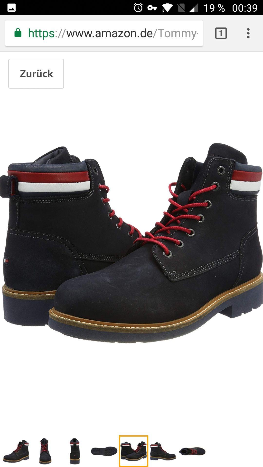 "Amazon Tommy Hilfiger Boots ""Patrick"""