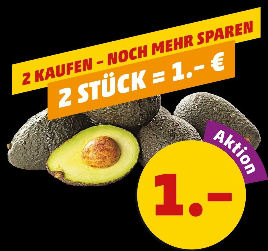 2 Avocados für 1€ [Penny]