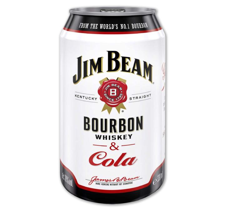 [Penny Framstag] Jim Beam Whiskey&Cola für 1,75€, Die Limo 1L für 0,99€, Pepsi 2L für 0,64€ (u.w.)