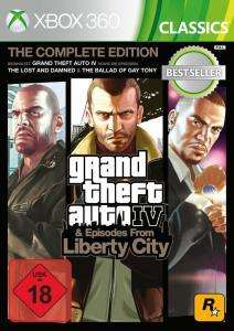 Grand Theft Auto IV - Complete Edition (Xbox 360/Xbox One) für 12,99€ inkl. VSK & 7,99€ bei Abholung (GameStop)
