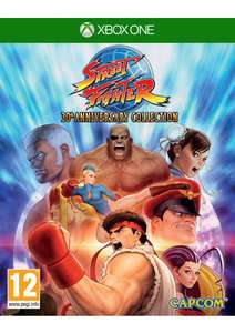 Street Fighter: 30th Anniversary Collection (Xbox One) + Ultra Street Fighter IV (Download-Code) für 25,15€ (SimplyGames)