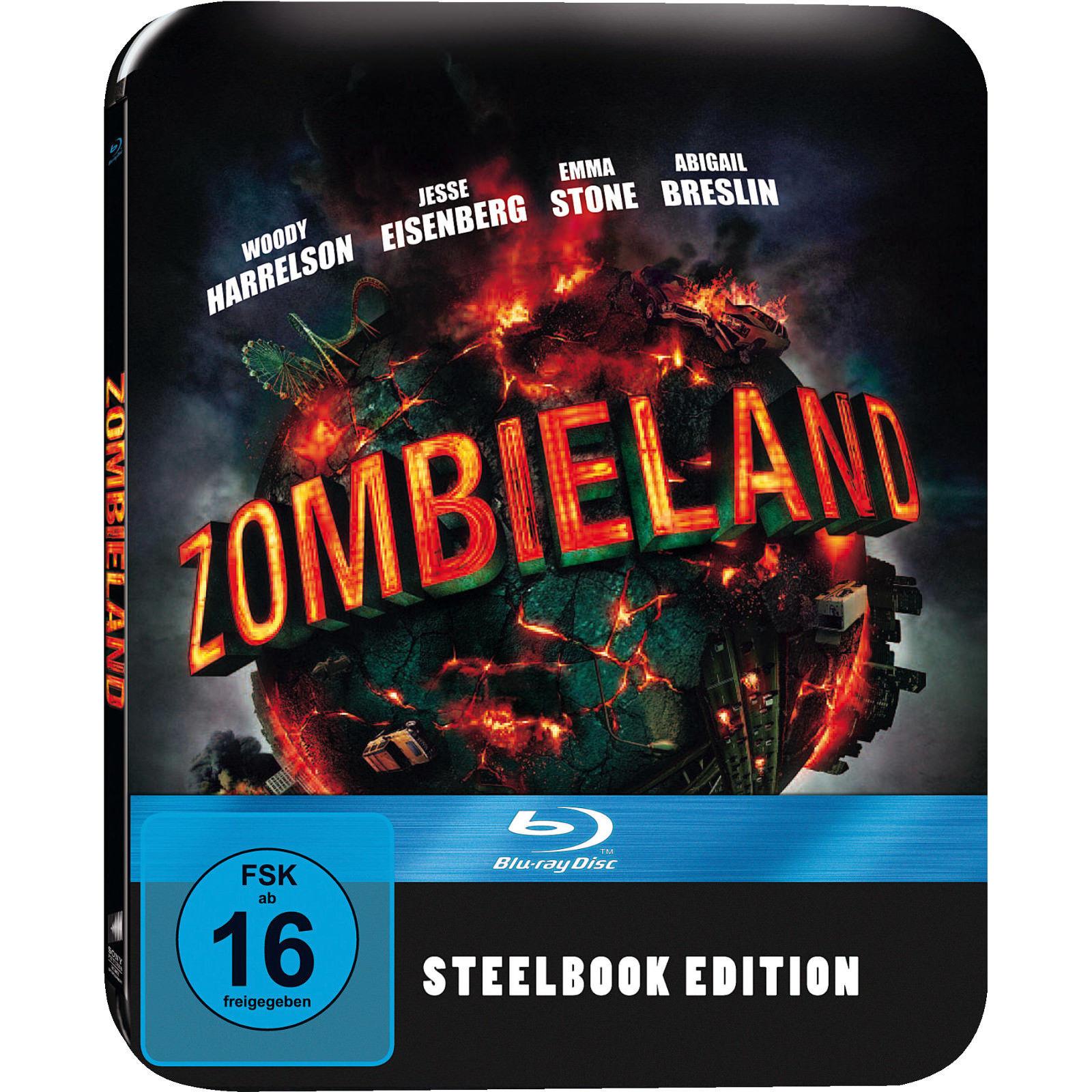 Zombieland Steelbook Edition (Blu-ray) & Underworld Awakening Steelbook Edition (Blu-ray) für je 7,99€ (Saturn)