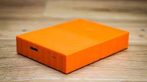 WD My Passport 1TB, Orange [Mobile Festplatte]