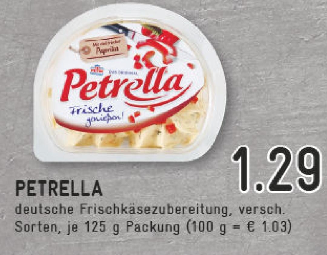 [ Edeka / Marktkauf bundesweit ] Petrella Frischkäsezubereitung für effektiv 0,79€ (Angebot + scondoo Cashback)