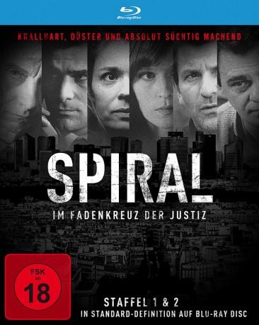 Spiral - Die komplette Staffel 1 & 2 (Blu-ray) für 9,98€ (Media-Dealer)