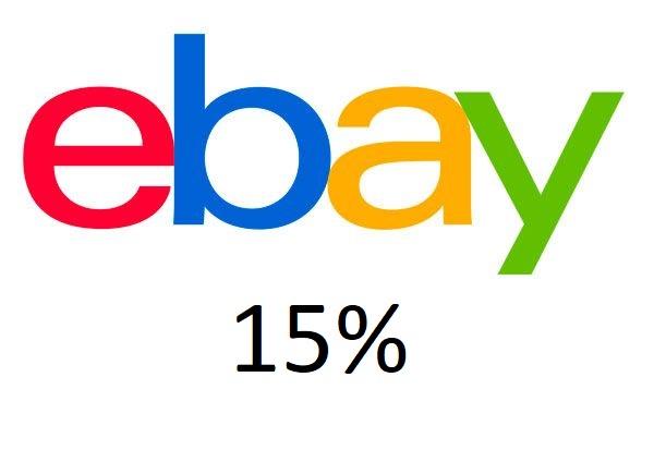 (EBAY) 15% Rabatt Gutscheincode auf ausgewählte Produkte u.a. Elektronik