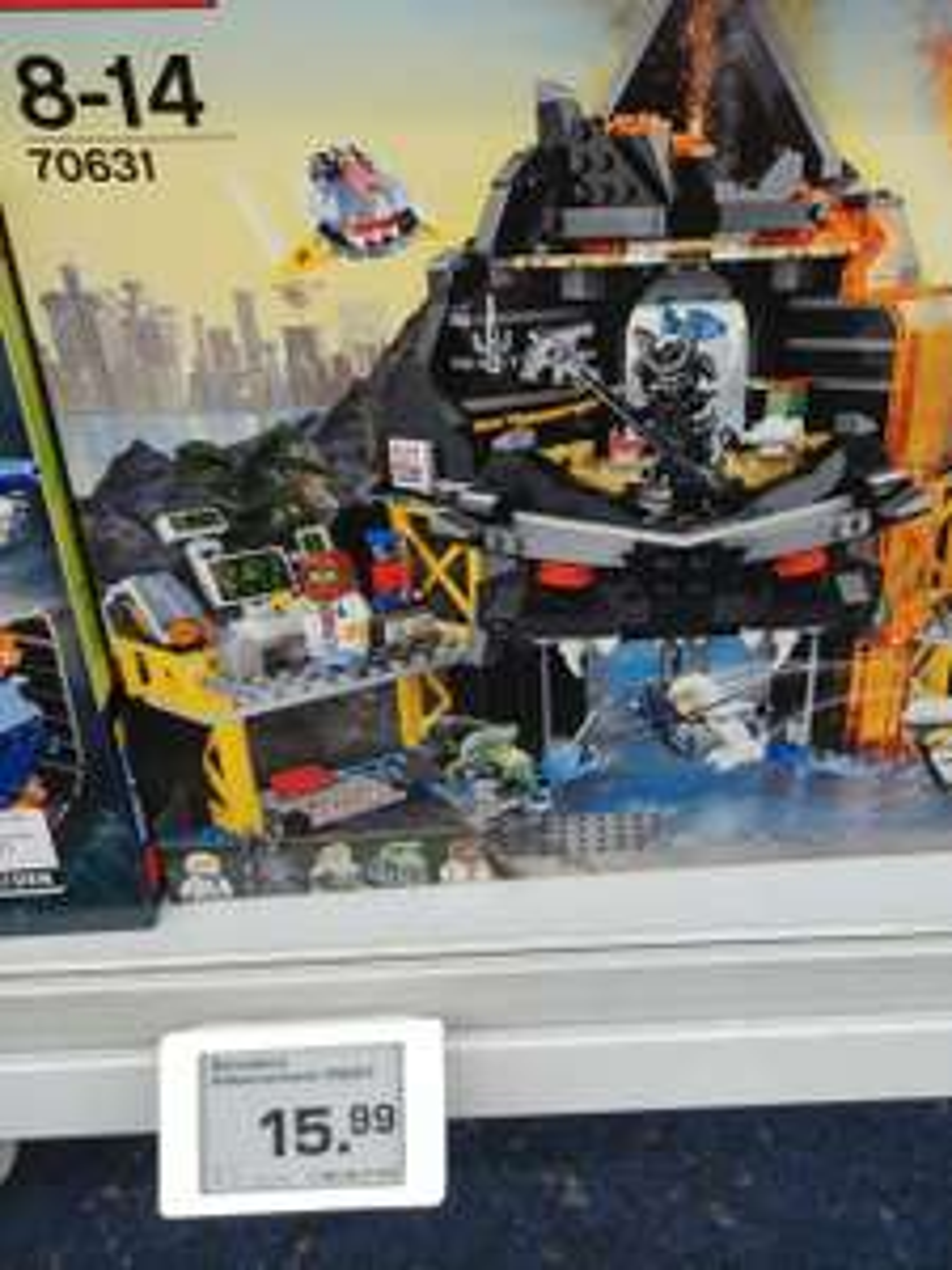 [Lokal Saturn Hamburg Hbf] LEGO Ninjago - Garmadons Vulkanversteck (70631)