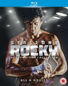 """Rocky"" (Complete Heavyweight Collection) - Teil 1 bis 6 mit deutscher Tonspur auf Blu-Ray"