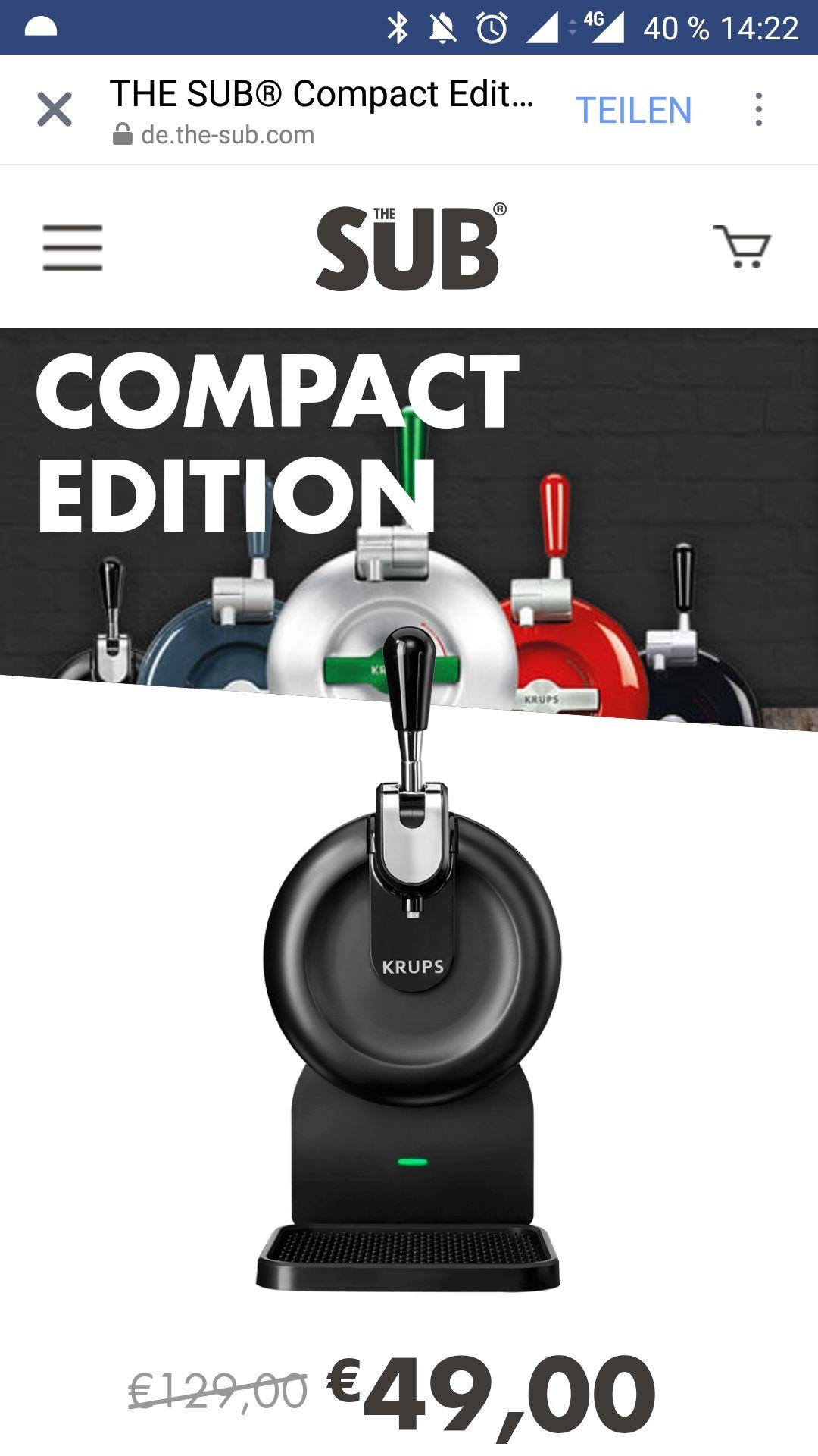 The SUB Compact Edition - Bierzapfanlage