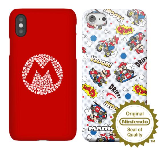 Offiziell lizenzierte Nintendo Smartphone Hüllen für iPhone und Samsung