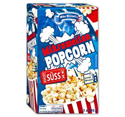 [Penny] Mikrowellen Popcorn, 3x 100g