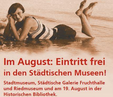 "[Lokal Rastatt] Freier Eintritt in Museen im ""freien August"""