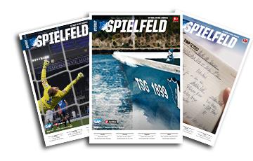 """Monatszeitschrift """"Spielfeld"""" des TSG Hoffenheim 6 Monate kostenlos - endet automatisch"""