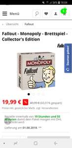 Monopoly Fallout Collector's Edition