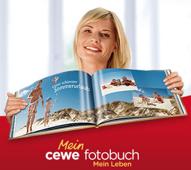 10€ Rabatt auf CEWE FOTOBUCH Varianten ab einem Auftragswert von 39€