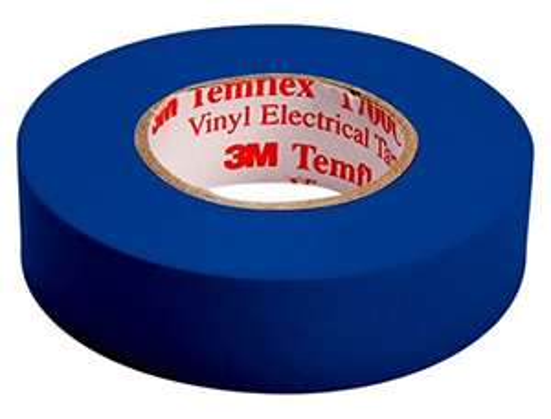 [AMAZON Plusprodukt] 3M TBLA1510 Temflex 1500 Vinyl Elektro-Isolierband, 15 mm x 10 m, 0,15 mm, Blau