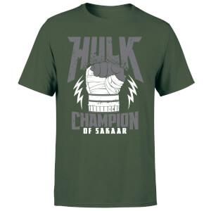 Offiziell lizenziertes Marvel Hulk Champion T-Shirt