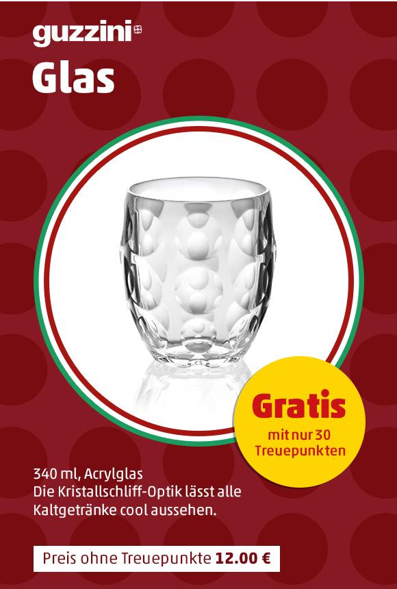 Penny-Treueaktion: guzzini Gläser und Schalen (ohne Zuzahlung!)