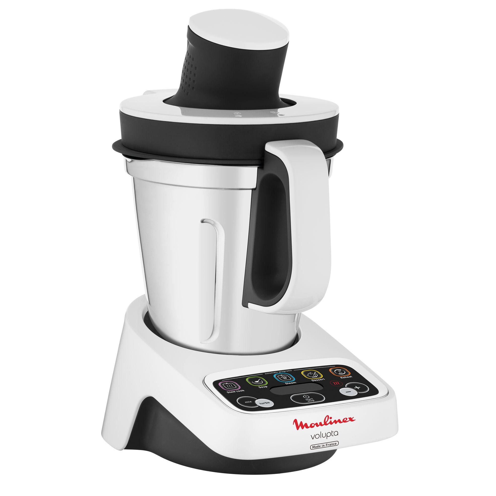 Moulinex Volupta Küchenmaschine mit Kochfunktion inkl. 50 Rezepten, als Neukunde mit 10€-Gutschein