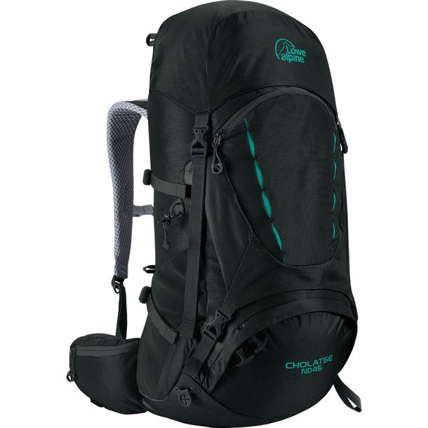 Lowe Alpine - Cholatse ND45 (Liter) Damen-Trekkingrucksack (Violett und schwarz) - verstellb. Rückensyst. und Regenhülle +2% Shoop 70,56€