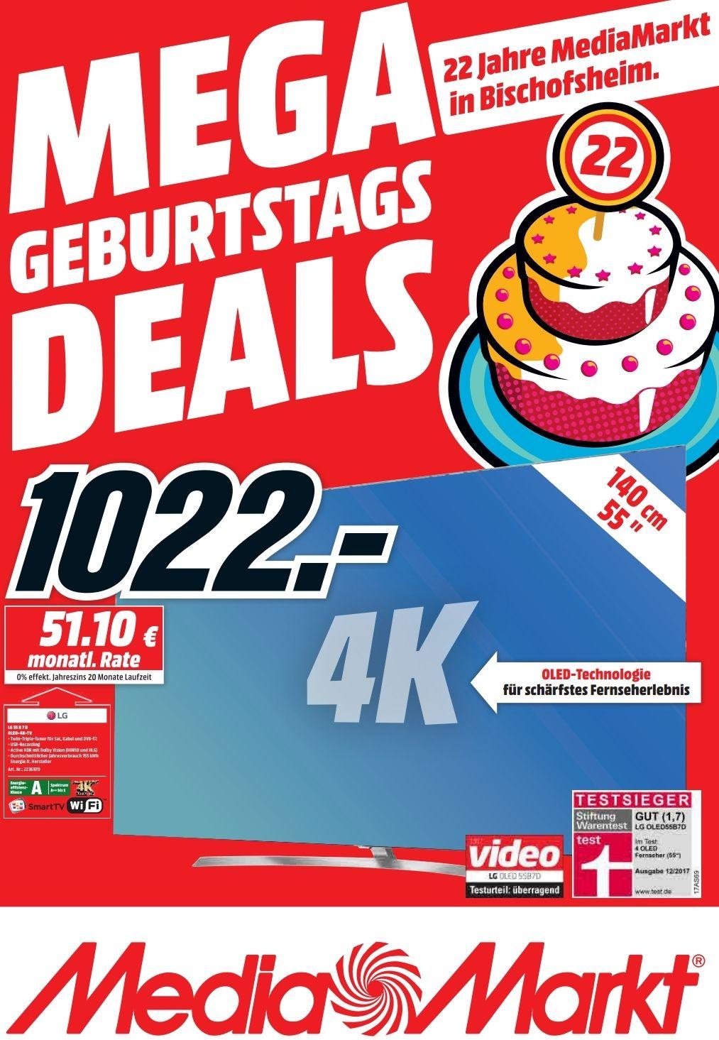 LG 55 Zoll Oled TV  55B7D lokal für für 1022€