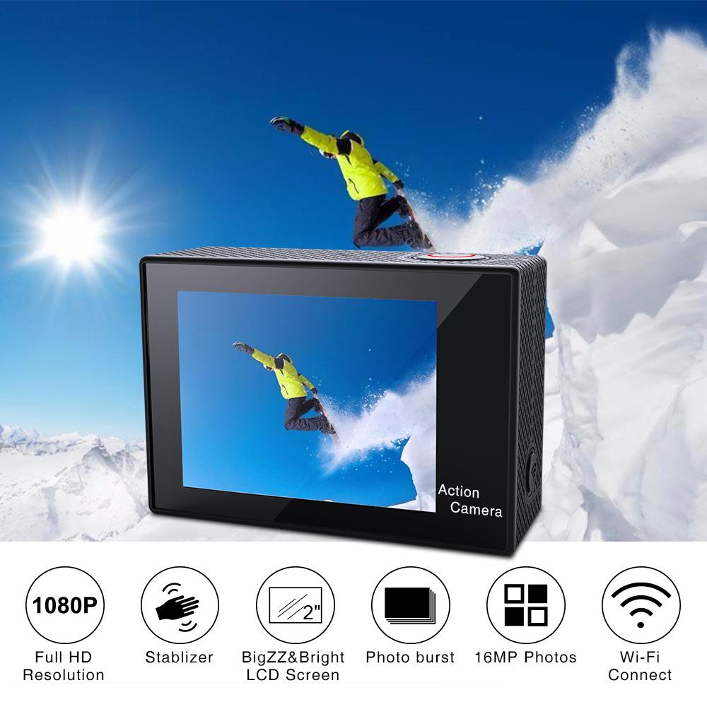 Virtoba Elite X iCatch SPCA6330M GC4603 2.0 Inch LCD Action Camera 1080P 30FPS