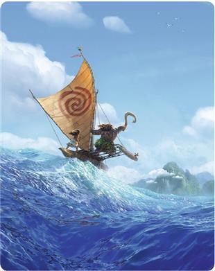 Vaiana 3D (Limited Edition, Steelbook, Blu-ray 3D + Blu-ray) für 14,99€ (CeDe)