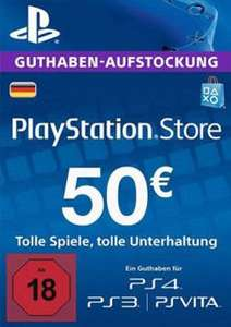 PlayStation Network (PSN) 50€ Guthaben