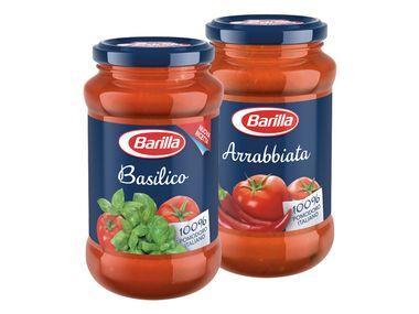 Barilla Pasta Sauce Basilico oder Arrabbiata 400g  Glas für 1.49€ @LIDL