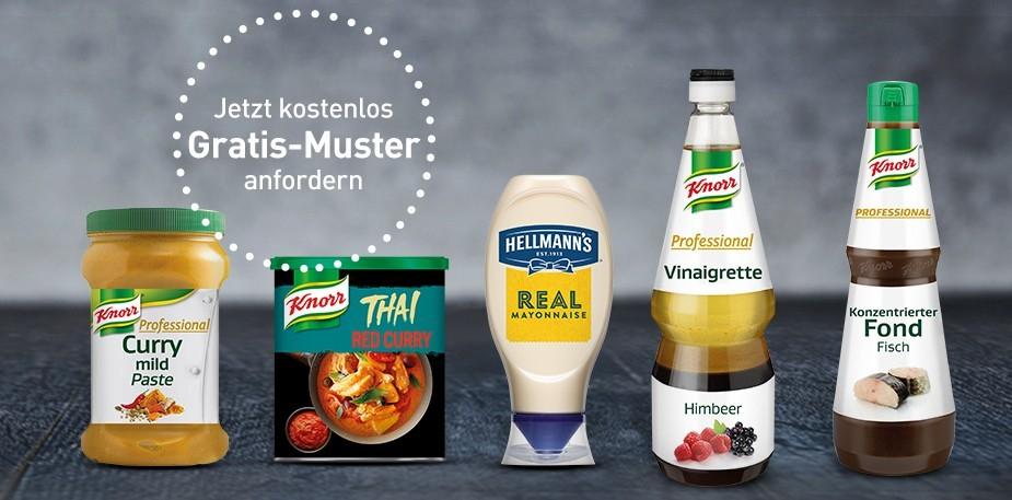Gratismuster von Unilever