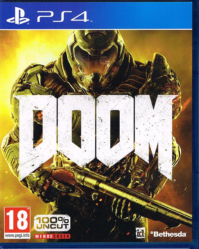Doom (2016) - PS4 für 8,90€ + 3,99€ Versand
