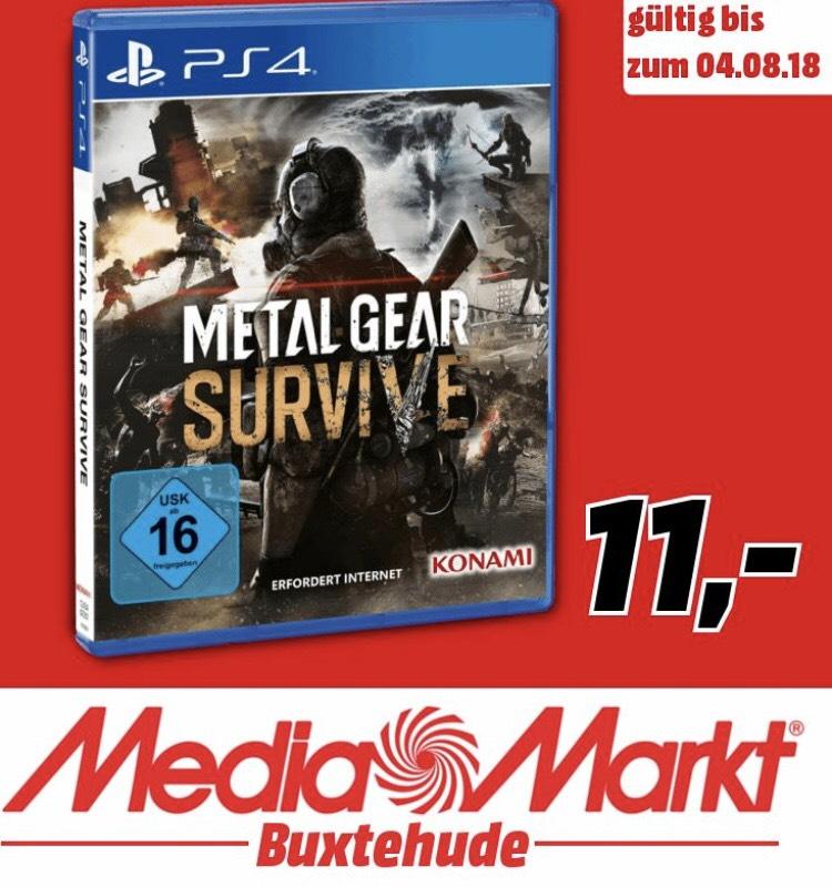 [MediaMarkt Buxtehude] Metal Gear Survive (PS4)
