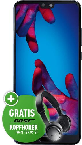 Huawei P20 mit Bose on-ear wirless im Congstar Allnet Flat Plus (10GB LTE Telekom-Netz) für insgesamt 889€