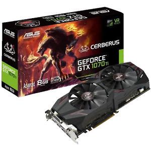 [MediaMarkt] + [eBay POOL10 Rabatt] ASUS GeForce Cerberus GTX 1070 TI Advanced Edition 8GB PCIe 3.0 x16 Grafikkarte 409€ inkl.