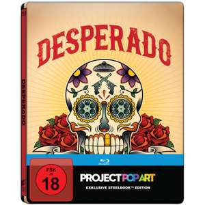 Desperado Steelbook Edition (Blu-ray) & 22 Bullets Steelbook Edition (Blu-ray) für je 7,99€ (Saturn)