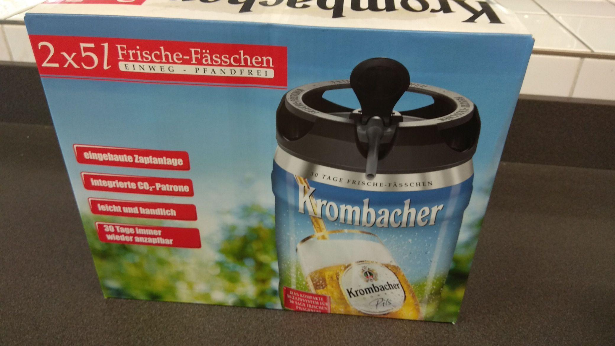 Krombacher Frische Fässchen 5€ Lokal Aldi Hamburg Rahlstedt