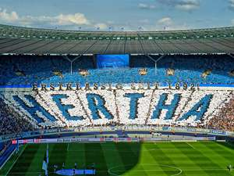 Kostenlos zu 15 Heimspielen von Hertha BSC für alle Kinder/ Jugendliche unter 14j.