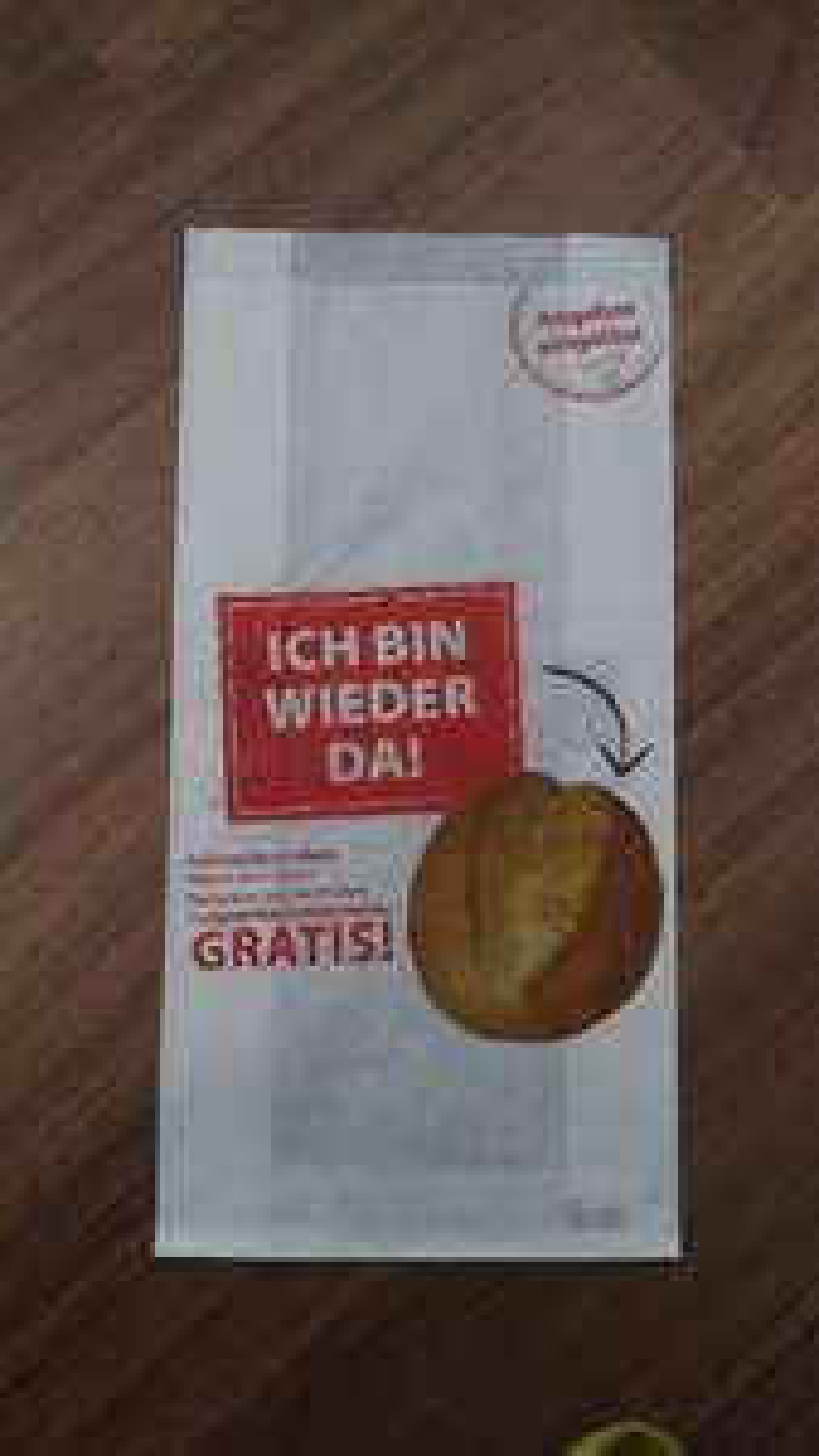 (LOKAL? KÖLN) Gratis Brötchen, Bäckerei Oebel