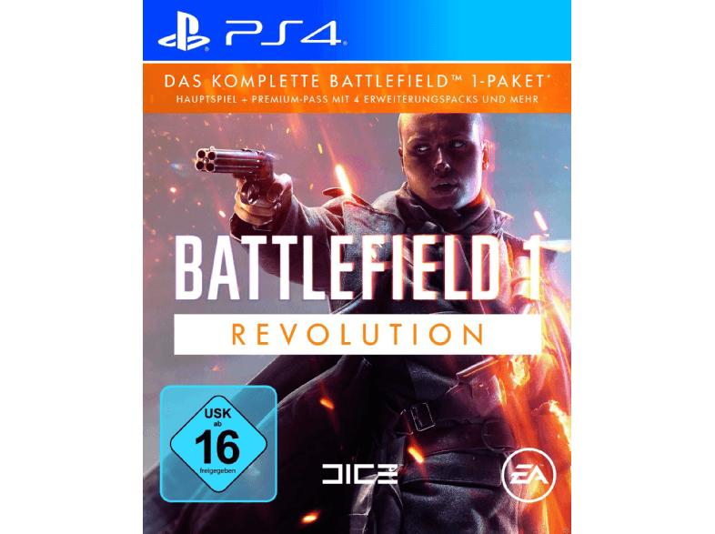 [Mediamarkt] Battlefield 1 - Revolution Edition [PlayStation 4] für 19,-€