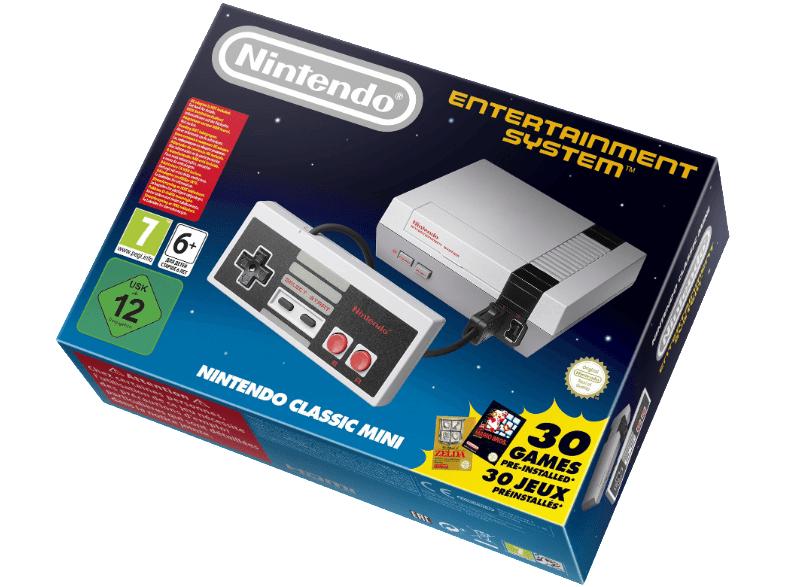 NINTENDO Classic Mini: Nintendo Entertainment System - NES für 54€ [Mediamarkt]