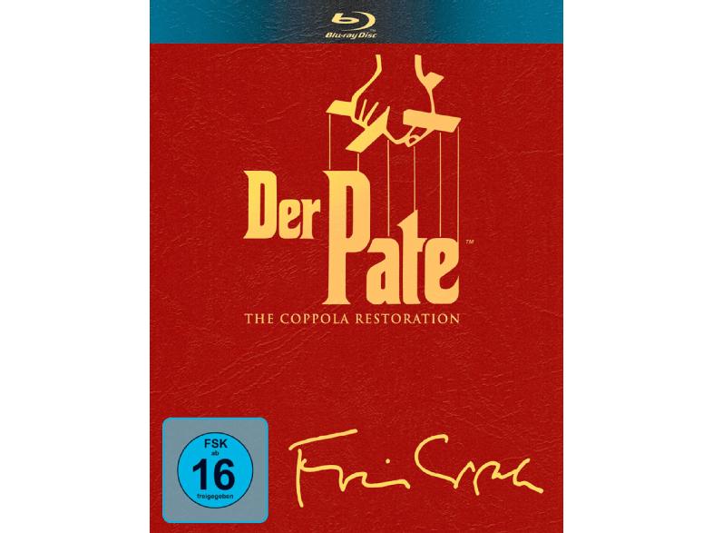 Der Pate - The Coppola Restoration [Blu-ray] für 17€ [Mediamarkt]