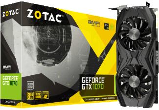 ZOTAC GeForce® GTX 1070 AMP! Core Edition( NVIDIA, Grafikkarte) bei MediaMarkt/Versandkostenfrei