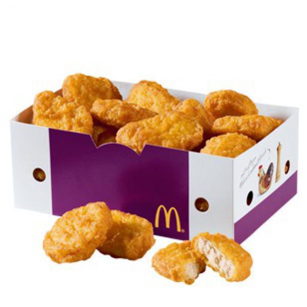 [McDonald's] 20er Chicken Nuggets inkl. 3 Saucen für 4,99 Euro
