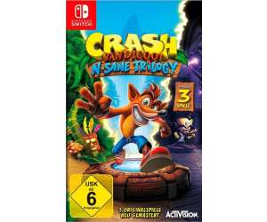 Crash Bandicoot: N. Sane Trilogy (Switch)