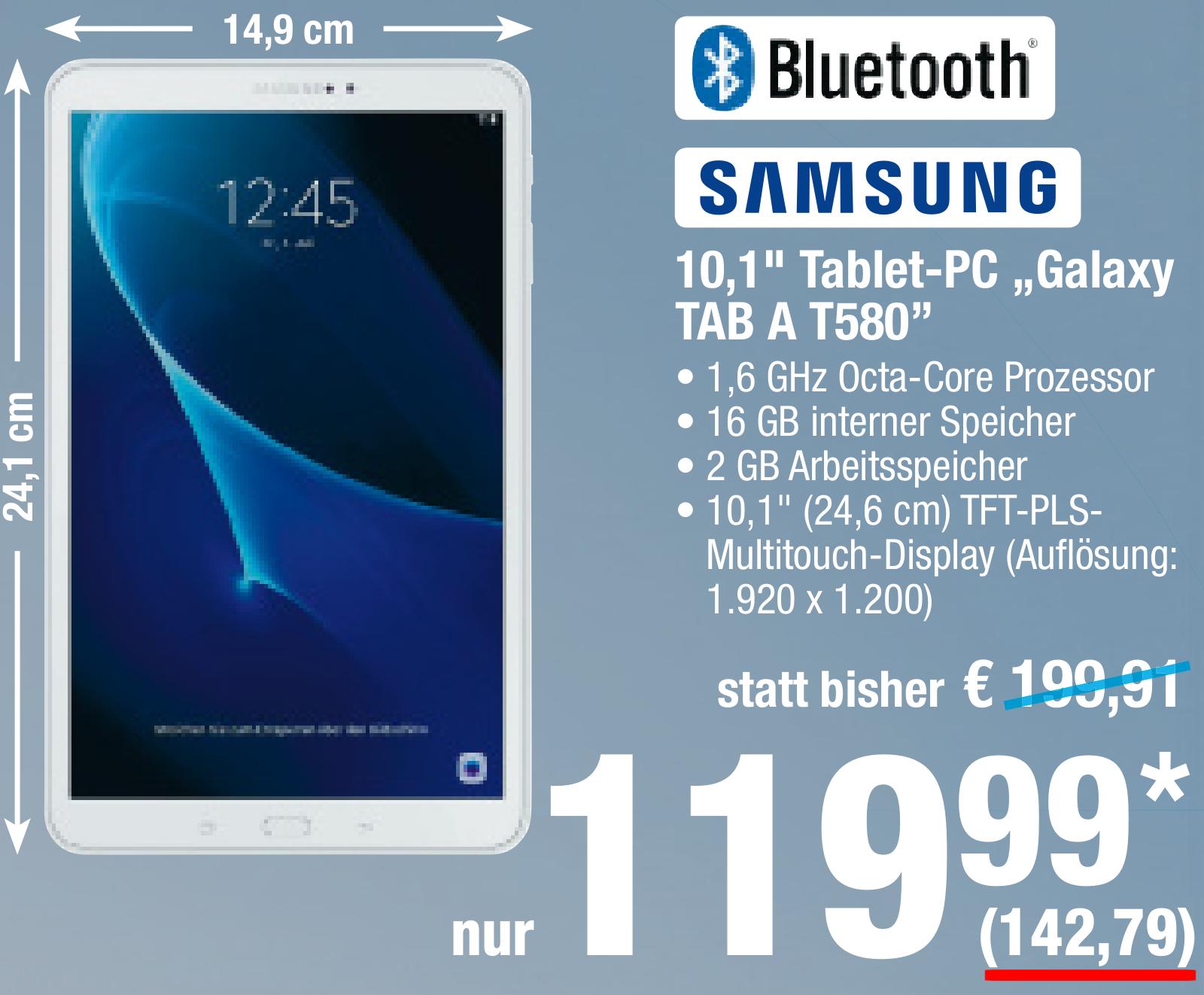 [Metro] Samsung Galaxy Tab A 10.1 16GB T580